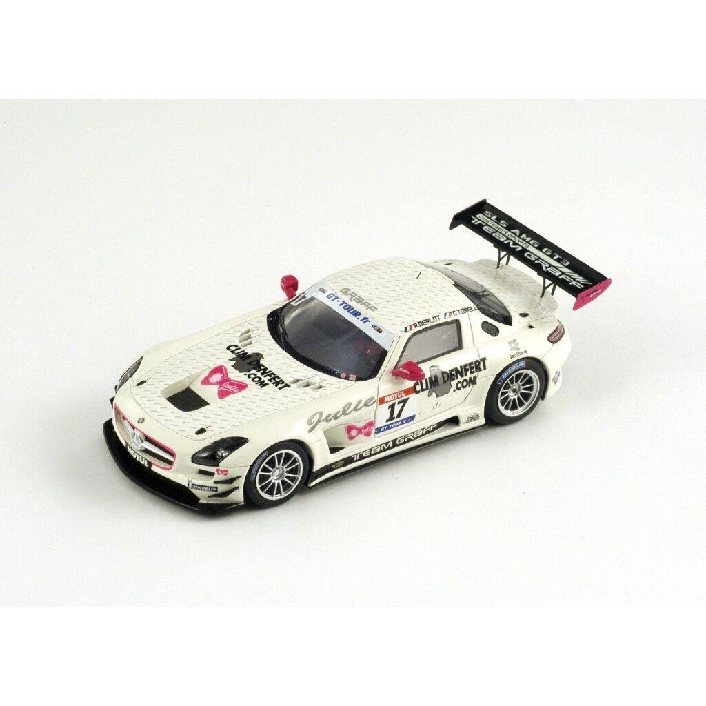 SPARK Mercedes Benz SLS GT3 Graff  17 GT Tour Derlot 2011 Tonelli - Derlot Tour SF020 1 43 98d2e2