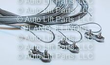 Lock Release Cable for ROTARY LIFT w/Adjusting Clamp FJ7595-1 / SET of 3