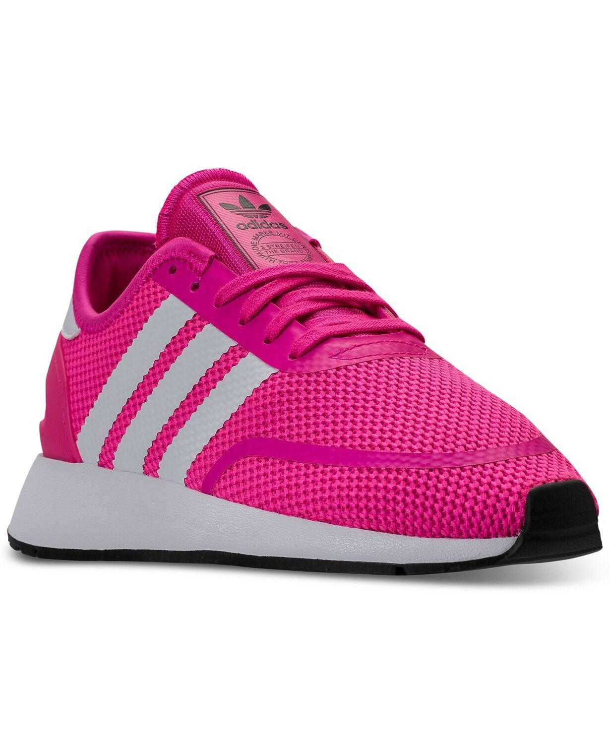 Adidas Girls Pink Pink Pink Casual Sneakers Size 6 Very Nice 884233