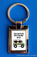 Personalised Motorhome Motor Home Van Keys Metal Keyring New Boxed
