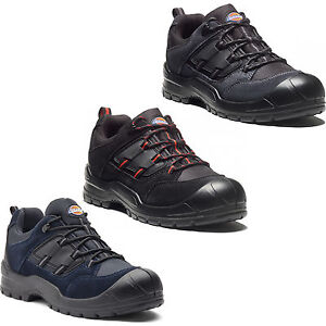 Dickies-Everyday-Safety-Shoes-Mens-Steel-Toe-Cap-Anti-Scuff-Toe-Heel-UK6-14