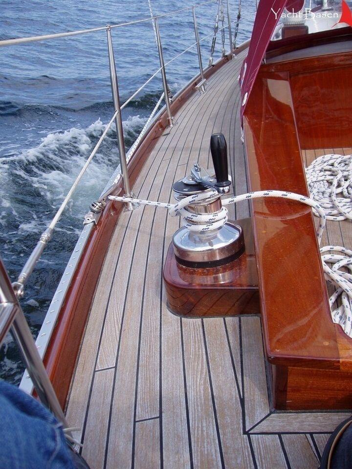 Alu-Yacht Sloop / Kutteryacht, årg. 2001, skrogmateriale