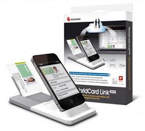 Details Zu Penpower Worldcard Link Pro Visitenkarten Scanner Für Iphone 4 4 S