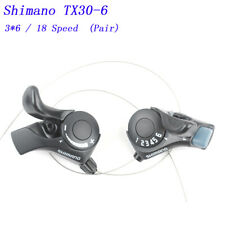 Shimano SL-MT32 3 X 5 6 7 Speed Thumb Gear Shifter Set NOS