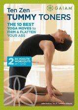 Yoga DVD EXERCISE DVD - 10 Zen Tummy Toners - 2 Workouts!