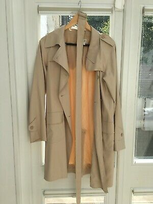 new varieties top-rated real quality AGNES B Trench Coat - Beige - Size 40 (Retail Price £400) | eBay