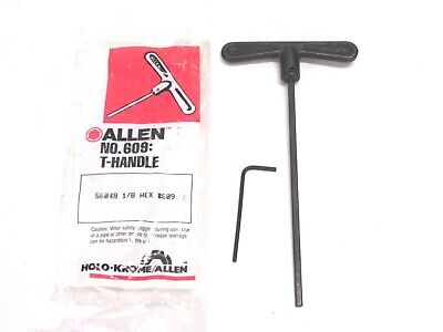 Qty 1 Holo-Krome Allen 57812 3MM Hex #609M Forged T-Handle Key Wrench