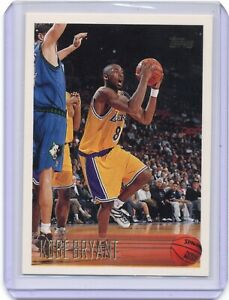 1996-97 Topps Kobe Bryant Rookie Card #138 Los Angeles Lakers RC