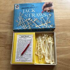 PICK UP STICKS MIKADO JACK STRAWS SPILIKINS TRADITIONAL WOODEN GAME