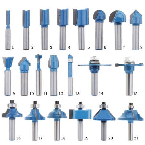 1 Stück 8mm Schaft Holzbearbeitung Fräser Metric Cutter Flush Trim