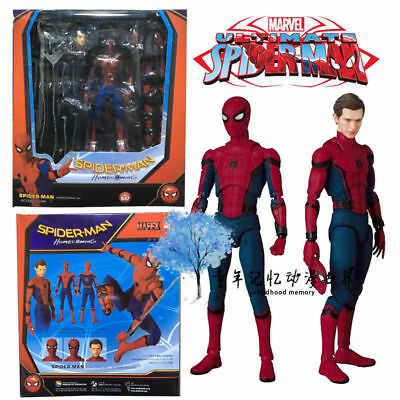 """6/"""" Spider-Man Homecoming Action Figure Collection Mafex Medicom Toy"""