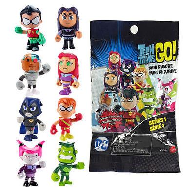 Teen Titans Go Series 1 Teen Titans 2-Inch Mystery Pack Mattel Toys