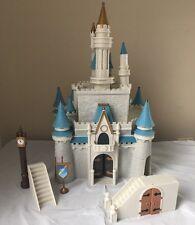 Disney World Cinderella's Castle Magic Kingdom Lights & Sounds Working Monorail