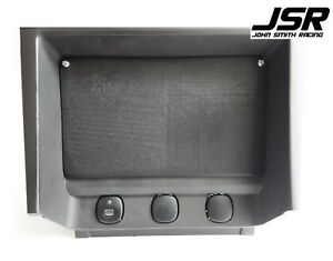 94-04 Mustang GT Cobra or V6 A//C Heater Control Plastic Delete Plate 1 3d Plate