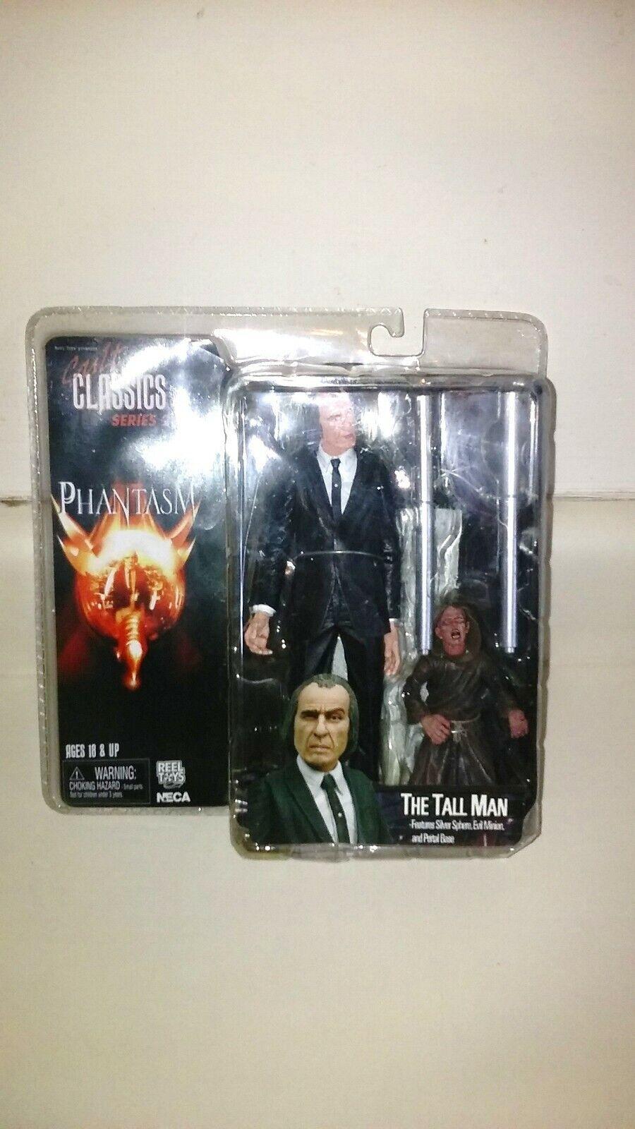 The Tall Man Cult Classics Serie 2 Phantasm Neca actionfiguren.Helt ny.