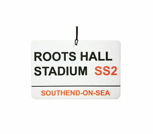 Southend-Roots-Hall-Stadium-Street-Sign-Car-Air-Freshener