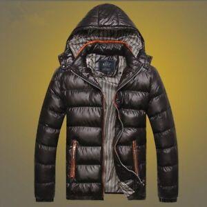 Winter-Men-039-s-Hooded-Down-Jacket-Outdoor-Warm-Coat-Waterproof-Outwear-Windproof