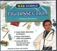 New: Pig Dissection (kid Science) Cd-rom [i96]