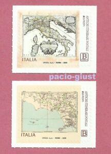 Italia-2020-EUROPA-ANTICHI-ITINERARI-POSTALI-Coppia-di-Francobollo-singolo