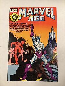 MARVEL AGE #1 -- WALT SIMONSON!! HI-GRADE!! Marvel!! April 1983!! NM