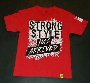 "Official WWE NXT Shinsuke Nakamura /""Strong Style Has Arrived/"" Black Shirt"