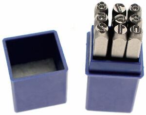 Figuren-zu-Klopfbank-8-mm-von-0-Rechts-9-Buffer-Zahlen-Satz-Trifft-Qualitaet-Pro