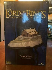 The-Lord-Of-The-Rings-Return-of-the-king-Golden-Hall-Polystone-Enviroment