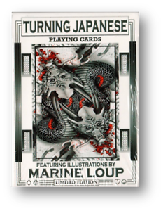 Limited Edition Turning Japanese Playing Cards Poker cardistry