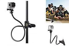 "Adjustable 27"" Neck Gooseneck Bend Flexible Clip Clamp Mount GoPro Hero Camera"