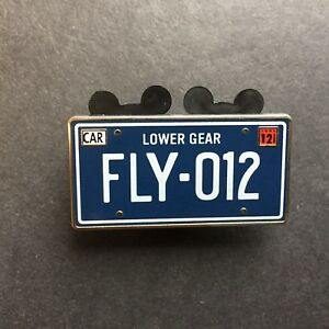 Details about WDI - Cars Land Mystery License Plate FLY 012 - LE 200 -  Disney Pin 86374