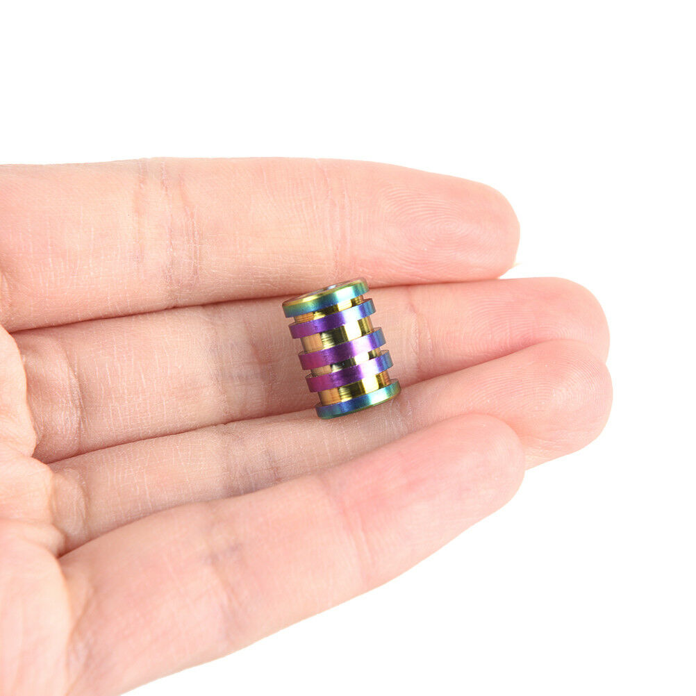 Titanium Alloy Beads Plating for Paracord Cord Bracelets Knife Light ...