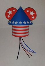 DISNEY MICKEY EARS 4TH OF JULY FIREWORKS ROCKET CAR TRUCK ANTENNA TOPPER~NEW~