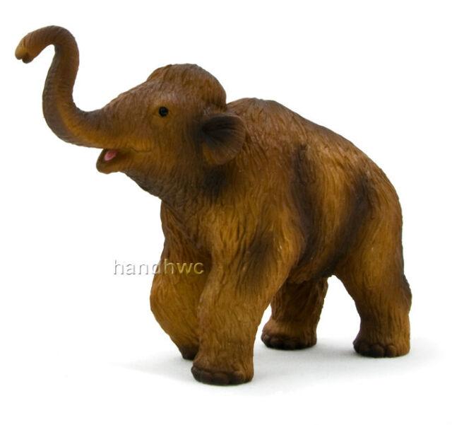 Mojo Fun 387050 Woolly Mammoth Calf Scale Realistic Prehistoric Dinosaur Replica