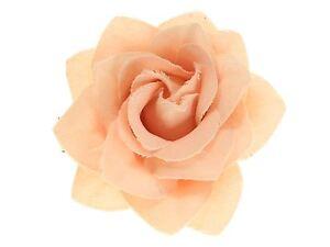 Peach-Small-Rose-Beak-Hair-Clip-Slide-Hair-Accessories