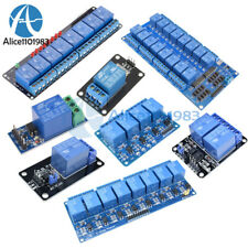 5v 12468 Channel Relay Module Board Optocoupler Led For Arduino Arm Avr
