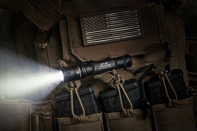 SureFire E2t Tactician Dual-output MaxVision Flashlight Batteries Lens Kit for sale online