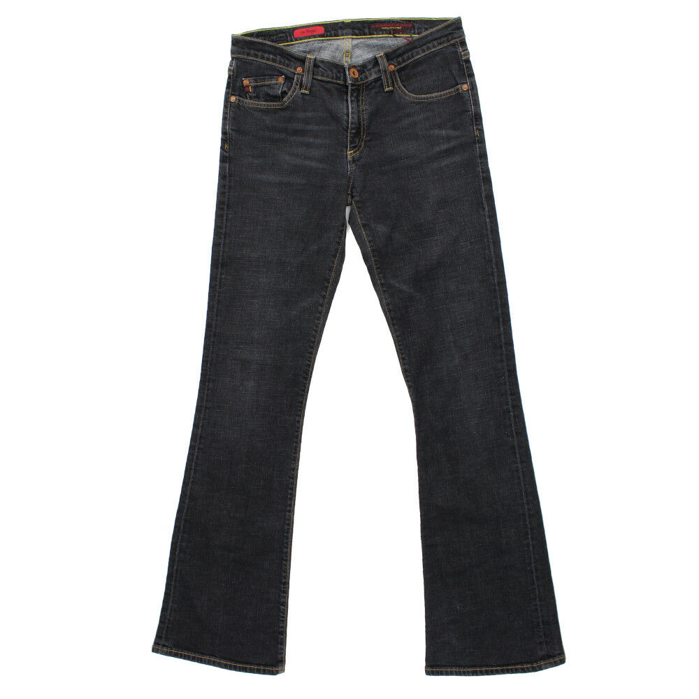 AG Adriano goldschmied Womens The Angel Jeans Bootcut Dark Wash Size 28R x 32