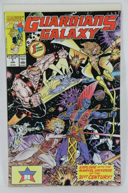 Guardians of the Galaxy #1 Jun 1990 Marvel First Issue NM Comic Book