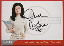 UFO - AYSHEA BROUGH (AB3) - Shado Operative - VERY LIMITED Autograph Card