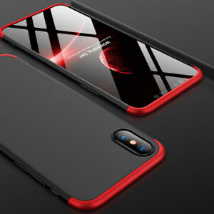 360-Full-Body-Shockproof-Case-Slim-Cover-For-Iphone-6-7-8-X-XR-KY
