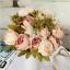Artificial Fake Peony Silk Flowers Bridal Hydrangea Home Wedding Garden Decor