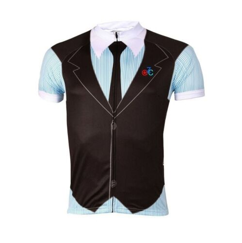 Gentleman British style Men/'s Cycling Clothing Bike Bicycle Jersey Top Quick Dry