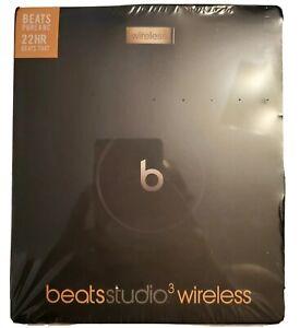 Beats By Dre Studio3 Wireless Headphones Black Gold Special Edition Sealed Ebay