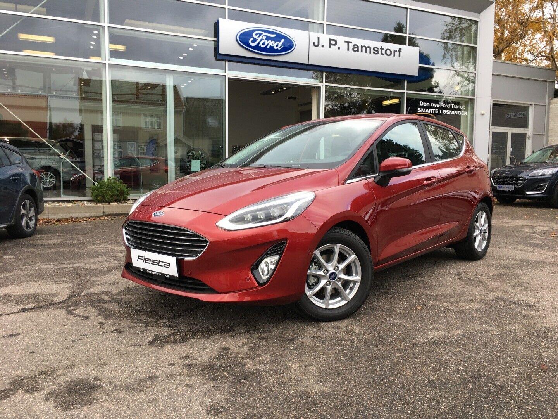 Ford Fiesta 1,0 EcoBoost mHEV Titanium X 5d - 189.900 kr.