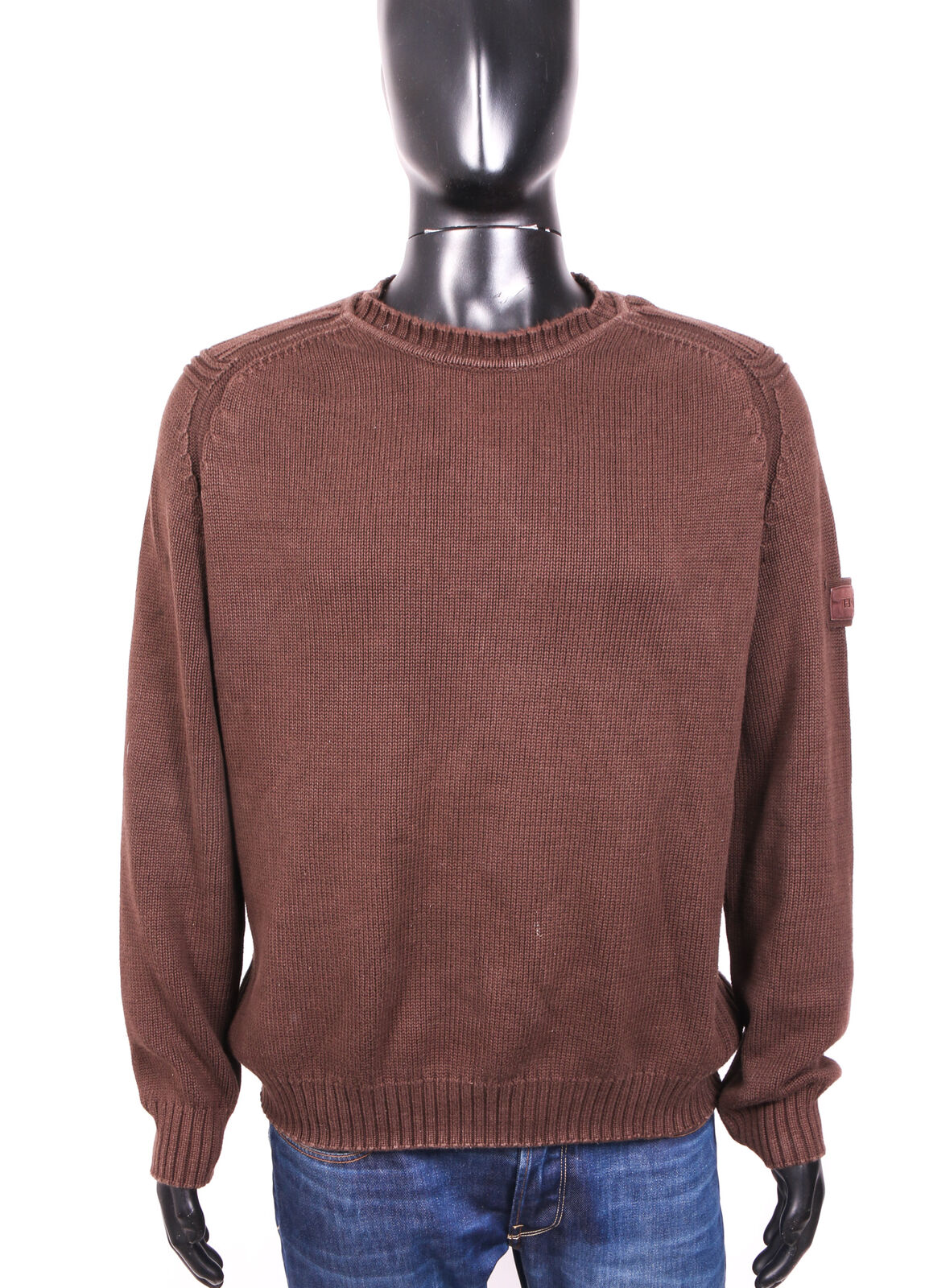 Ralph Lauren Mens Sweather Jumper Brown L