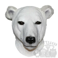Latex Animals Overhead Arctic Polar Bear Donkey Props Stag Hen Fancy Party Masks