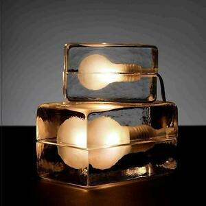 12cm new modern contemporary stylish ice block cube table light image is loading 12cm new modern contemporary stylish ice block cube aloadofball Images