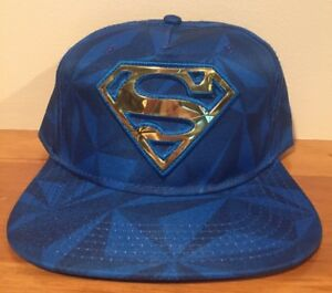 Image is loading Superman-Gold-Original-Snapback-Hat-Cap-DC-Comics 3d1ce85b517