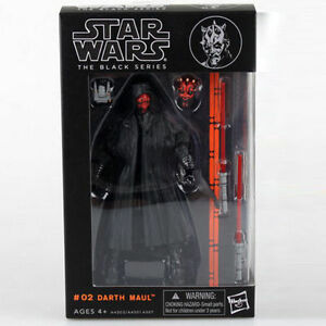 New-Darth-Maul-Star-Wars-the-Black-Series-6-034-Action-Figure-Gift-With-Box