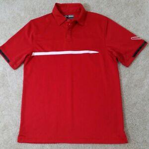 Callaway-Men-039-s-Size-S-Red-Opti-Dri-Golf-Polo-Shirt